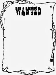 wanted poster template for kids ctzobx5z stuff