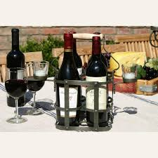 Single Wine Bottle Holder by Outdoor Wine Glass Holders Outdoor Housewares Wine Enthusiast