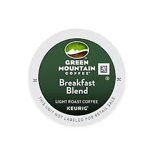 keurig k cup pack 18 count green mountain coffee breakfast