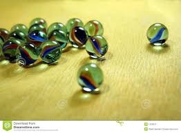 spilled colourful glass balls stock photography image 1259022