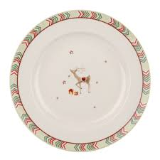 spode christmas jubilee 10 5 inch dinner plate chevron set of 4