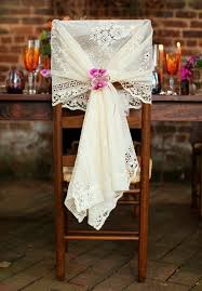 lace chair covers 10 wedding chair wrap ideas the bright ideas