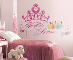 Decals For Kids Rooms Disney Princess Princess Crown Peel And Stick Giant Wall Decal