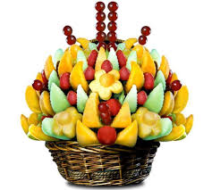 edible fruit baskets how to make a striking edible fruit bouquet always foodie