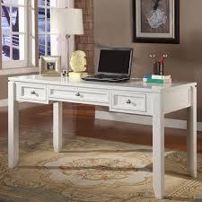 Antique White Desks by Parker House Boca 57 In Writing Desk Cottage White Hayneedle