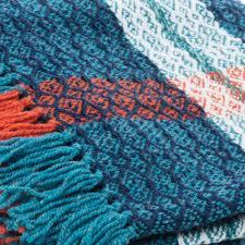 plaid en cachemire plaid en laine et cachemire blue lagoon plaids intérieur 325 u20ac