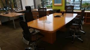 Conference Room Desk Used Conference Room Furniture Modular Technology