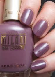 milani nail lacquer collection for 2014 mauve medley my nails