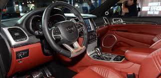 jeep grand cherokee interior 2018 2018 jeep grand cherokee trailhawk price specs interior