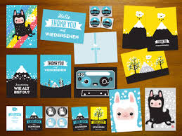 25 creative postcard designs for inspiration