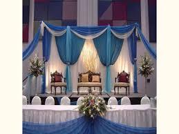modern concept wedding reception decoration ideas with indoor