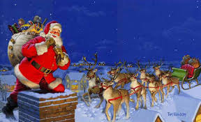 santa sleigh and reindeer nicholas and santa claus santa claus now a days