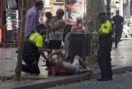 barcelona terror attack death u0026 injuries in u201cmassive u201d van crash