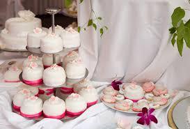 mini cakes wedding fashion trendy