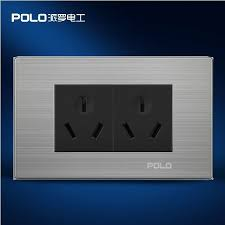 au or nz standard wall double socket polo brand power outlet