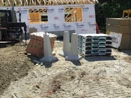 using precast concrete piers for decks u0026 porches