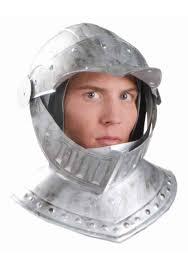 deluxe knight helmet