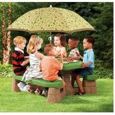 little tikes easy store jr picnic table little tikes easy store jr play table with umbrella walmart com