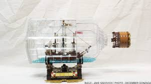 lego ideas ship in a bottle the flagship leviathan - Ship In A