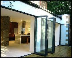 Glass Bifold Doors Exterior Exterior Bifold Doors Glass Door Glass Doors For Modern Style Bi