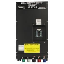 series 16 cam lok 200 amp union connector