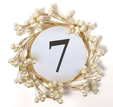 Vintage Table Number Holders Table Number Holders Table Number Stands
