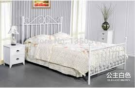 White Princess Bed Frame Aliexpress Buy Simple European Style Iron Bed Bed 1 8