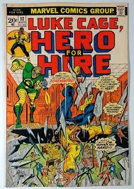 Floor Hero by Hero For Hire 1972 12 Fn 6 5 Luke Cage Power Man Vs Chemistro