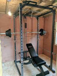 home gym squat rack power cage bench press in bexleyheath