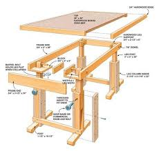Free Wood Workbench Designs by 241 Best Diy Furniture Images On Pinterest Projects Woodwork