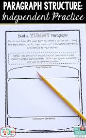 upper elementary snapshots how to teach paragraph writing