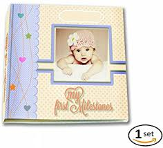 personalized record album premium baby memory book by babycute just add