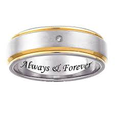 wedding quotes engraving engraved mens wedding bands ideas finding wedding ideas