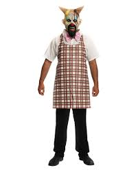 clown costumes for halloween horror clown costume eismann with latex mask horror shop com