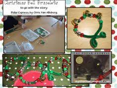 our trains for polar express day craft