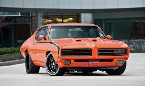 pontiac sports car 69 pontiac gto resto mod