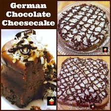german chocolate cheesecake lovefoodies