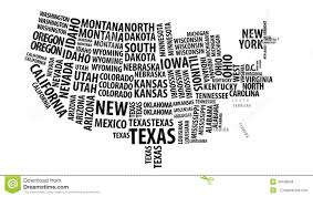 Word Cloud Map Of Washington by 4k Us Map
