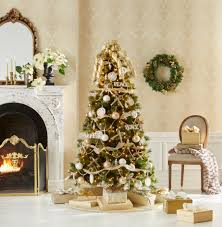 jaclyn smith glimmer and glisten complete tree decorating kit kmart