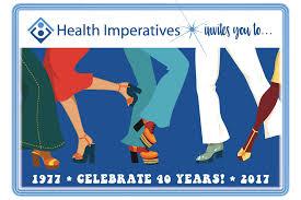 40th anniversary celebration health imperatives