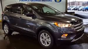 Ford Escape Sport - 2017 grey ford escape 4wd se review prince george motors youtube