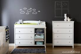 south shore cotton candy changing table amazon com south shore furniture cotton candy collection changing