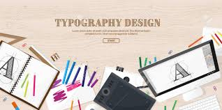 web design software tutorial graphic and web design illustration flat style designer workplace