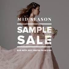 Sample Sale Wedding Dresses Designer Wedding Dress Sample Sale July 2017 Designer Wedding