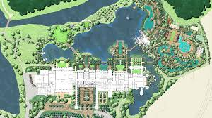 Walt Disney World Resorts Map by Four Seasons Resort Orlando At Walt Disney World Edsa