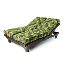 lloyd flanders wicker sunchaser adjustable double chaise lounge