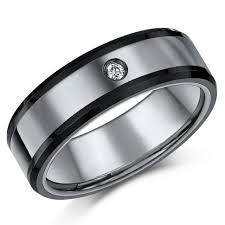 Mens Titanium Wedding Rings by Wedding Rings Mens Titanium Wedding Rings With Diamonds Titanium