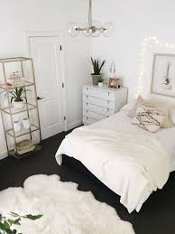Minimalist Home Decorating Beautiful White Bedroom Design With Minimalist Shelves Home