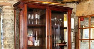 dark wood china cabinet wall display cabinets free standing wall mounted cabinets