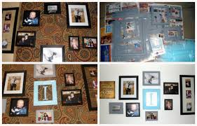 Picture Wall Collage by Easy Diy Rustic Shelves A Mom U0027s Take